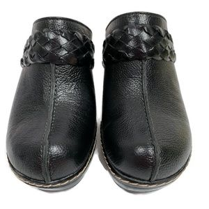 NWOT Sofft Women's Leather Upper Mules/Clogs